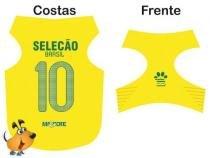Camisa Torcedor Mascote Seleção Brasileira Tamanho M -
