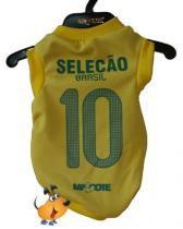 Camisa Torcedor Mascote Seleção Brasileira Tamanho P -