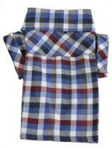 Camisa Xadrez Bichinho Chic Azul Tamanho 0 -