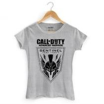 Camiseta Babylook Call Of Duty: Sentinel Tam. P - BAND UP