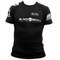 Camiseta Bope Dry Fit  Black Skull -