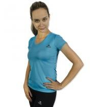 Camiseta Color Dry Workout SS Muvin CST-400 - Azul Claro - GG - Muvin