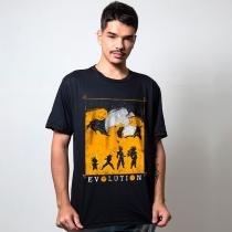 Camiseta evolução  tamanho g masculino - Outros