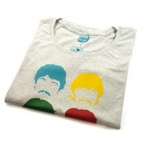 Camiseta Feminina Beatles Colors - Bendita augusta