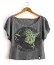 Camiseta Feminina Star Wars Yoda Do or Do Not - Tam G - Studio Geek