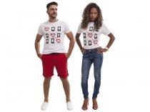 Camiseta Magalu 6.0 Jogo da Velha Tam. G - 100% Algodão Iódice