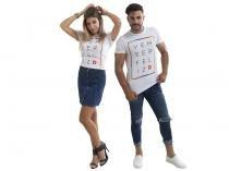 Camiseta Magalu 6.0 Vem ser Feliz Tam. PP - 100% Algodão Iódice