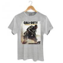 Camiseta Masculina Call of Duty: Soldier Black Tam. P - BAND UP