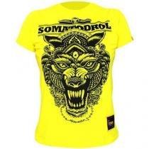 Camiseta Masculina - Somatodrol Amarelo XG - Iridium Labs -