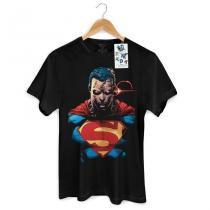 Camiseta masculina superman: x-ray vision colors tam. gg - Band up