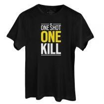 Camiseta Masculina Tom Clancys: Siege One Shot One Kill Preta Tamanho GG - UBISOFT