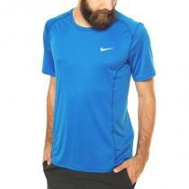 434b943e75 Camiseta miler azul nike -