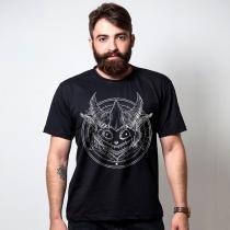 Camiseta pequeno capeteemo  preta  tamanho g masculino - Outros