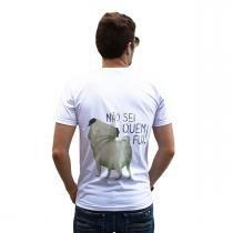 Camiseta Pug Masculina - G - Bichovira
