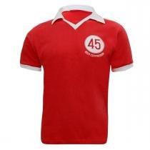 Camiseta Retrô INTERNACIONAL - Liga Retrô - Vermelha 1945 - Tam P - Liga Retrô