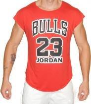 Camiseta Strong Bull 23 Jordan Vermelha - Ziboo -