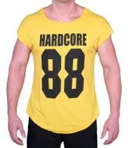 Camiseta Strong Hardcore 88 Amarelo - Ziboo -