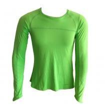 Camiseta Ultra Light Feminina M Verde Sunthrice - Sunthrice
