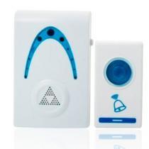 Campainha Sem Fio 32 Toques Led Wireless Wifi Doorbell Branca - Doorbell