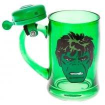Caneca Campainha Marvel Hulk - Versare anos dourados