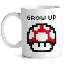 Caneca Cogumelo Vermelho Pixel Super Mario Bros - Vermelho - Único - Gorila Clube