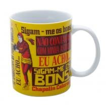 Caneca de Porcelana - 300 Ml - Chaves - Chaves - Chapolin - Frases - Urban -