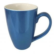 Caneca de porcelana Banquet Brilhante Rak azul royal 300 ml - 25887 - Rak porcelain