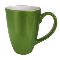 Caneca de porcelana Banquet Brilhante Rak verde 300mL - 25895 - Rak porcelain