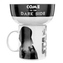 Caneca e Tigela de Cereal - Darth Vader - L3 store
