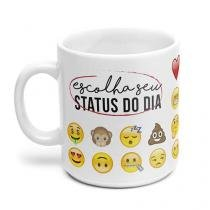Caneca Emoji Emoticon - Gorila Clube
