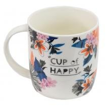 Caneca Free Life 340ml - Cup Of Happy - Dynasty -