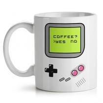 Caneca Game Boy Café Joystick - Branco - Único - Gorila Clube