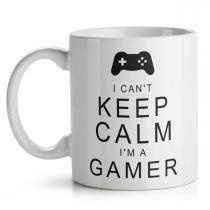 Caneca Gamer Cant Keep Calm - Yaay