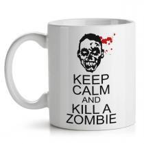 Caneca Keep Calm and kill a Zombie - Yaay