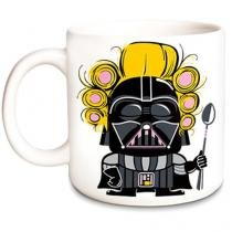Caneca Mae Darth Vader Star Wars - Branco - Único - Gorila Clube