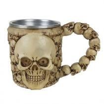 Caneca Medieval Cranio 350 ml -