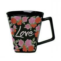 Caneca Mini Quartier 220ml - Havan Love Flower - Havan
