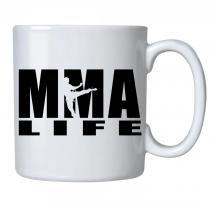 Caneca personalizada porcelana mma life - Criatics