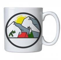 Caneca personalizada porcelana montanhas - Criatics