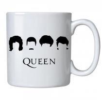 Caneca personalizada porcelana queen minimalista - Criatics
