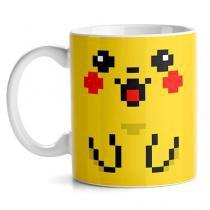 Caneca Pokemon Pikachu - Amarelo - Único - Gorila Clube