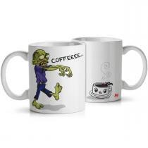 Caneca Zombie Wants Coffee - Yaay