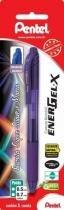 Caneta Gel 0,7mm Energel-X Violeta Sm/Bl107-V Pentel Blister - 953002
