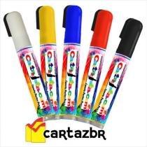 Caneta poster pen recarregável window marker 2x5mm - Cartazista.com