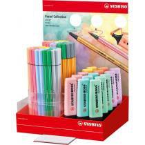 Caneta Stabilo 24/04-1 Boss/Pen/Point Pastel Sertic Dp.C/95 -