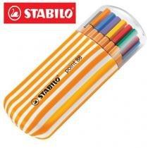 Caneta Stabilo Point88 c/20 unidades Zebrui -