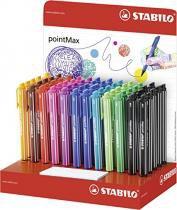 Caneta Stabilo pointMax C/60 Canetas c/10 Cores - Stabilo