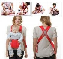 Canguru Carregador Para Bebe Ergonomico Baby Bag Vermelho (MC40524) - Mc