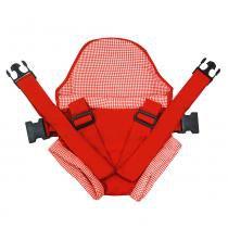 Canguru Click Vermelho - Bebê Passeio - Bebê Passeio