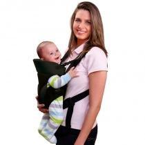 Canguru Para Bebê Baby Safe Preto BB014 Multikids Baby -